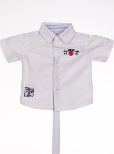 Бебешка риза с къс ръкав