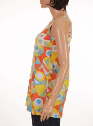 Детска туника с тънки презрамки