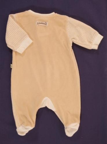 Бебешко гащеризонче с дълъг ръкав