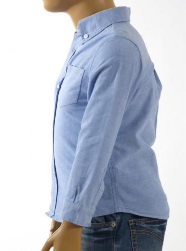 Детска риза с дълъг ръкав NUCLEO