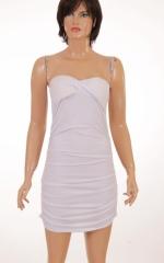 Дамска рокля без презрамки