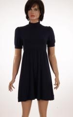 Дамска рокля с къс ръкав