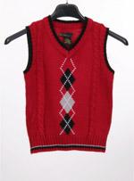 Бебешки пуловер без ръкав KANI GOLD