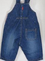 Бебешко дънково гащеризонче H&M