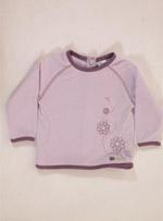 Бебешка блуза с дълъг ръкав decathlon creation
